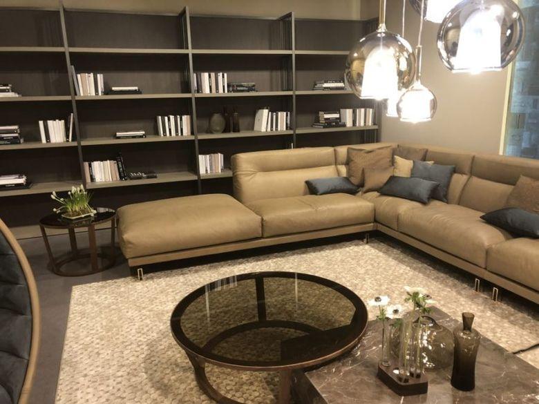 Г-образная секционная мебель