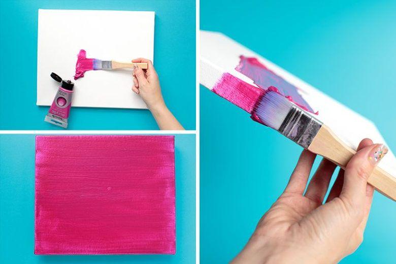 закрасить фон краской