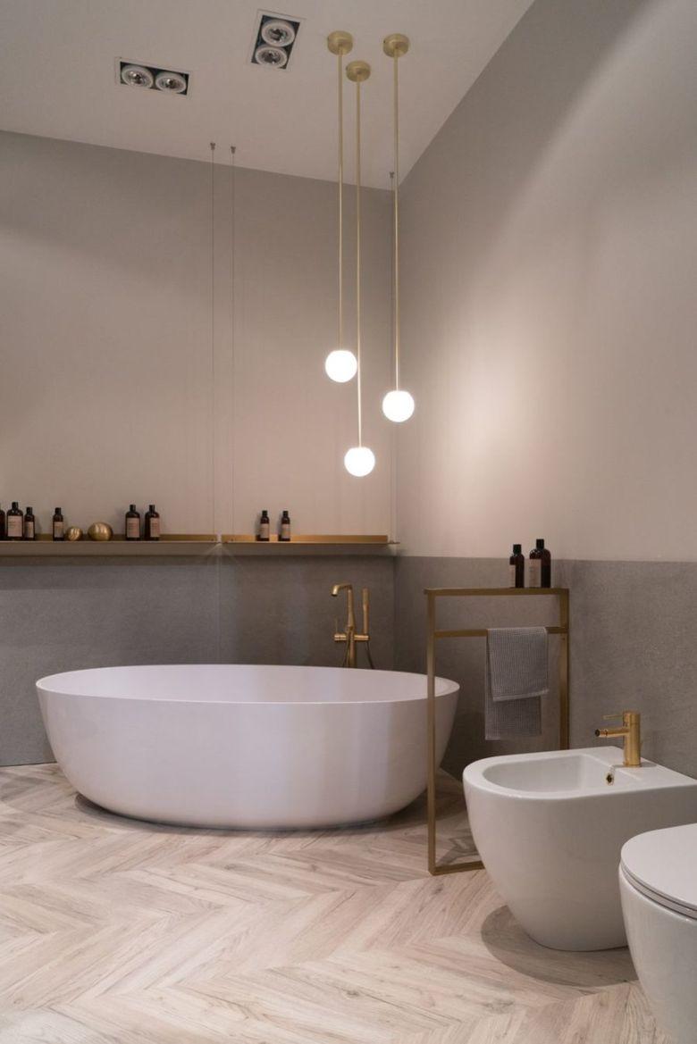 Декор ванной минимализм