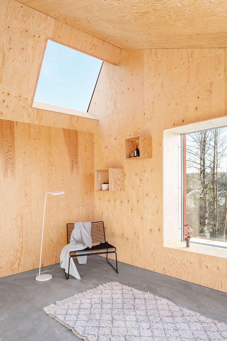 Фанера в интерьере отделка стен и потолка