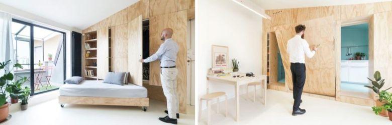 Фанера в интерьере мебель обзор