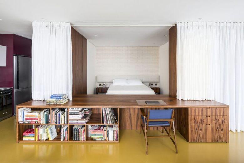 занавески для отделения спальни