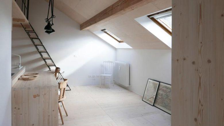 Квартира под мансардной крышей