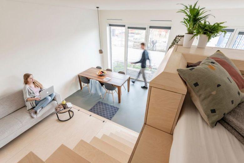 Маленькая квартира - вид сверху
