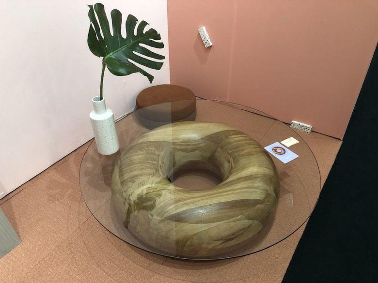 столик пончик