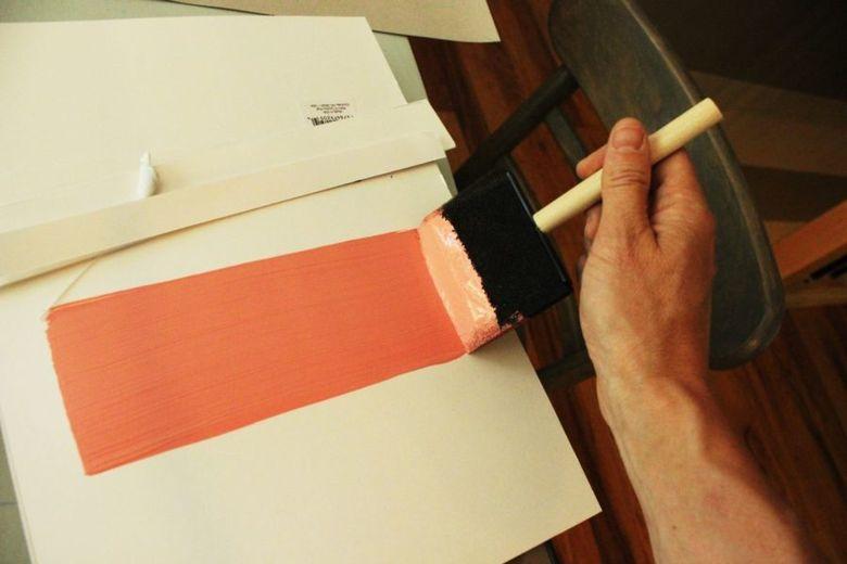 проверьте краски