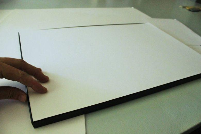 проверить размер листа в рамке