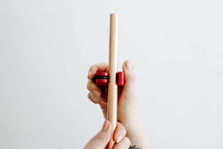 обрезка трубки