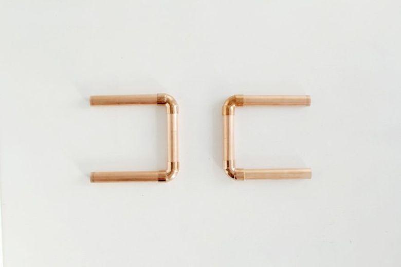две U-образные формы