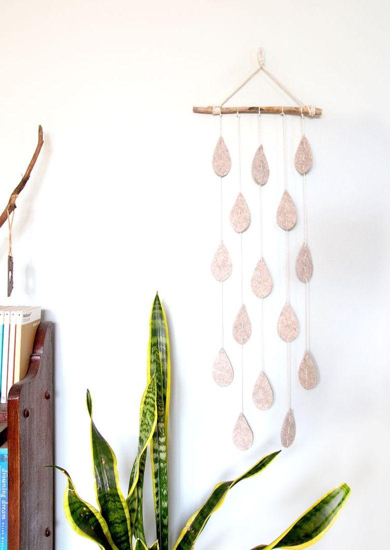 подвеска капли дождя
