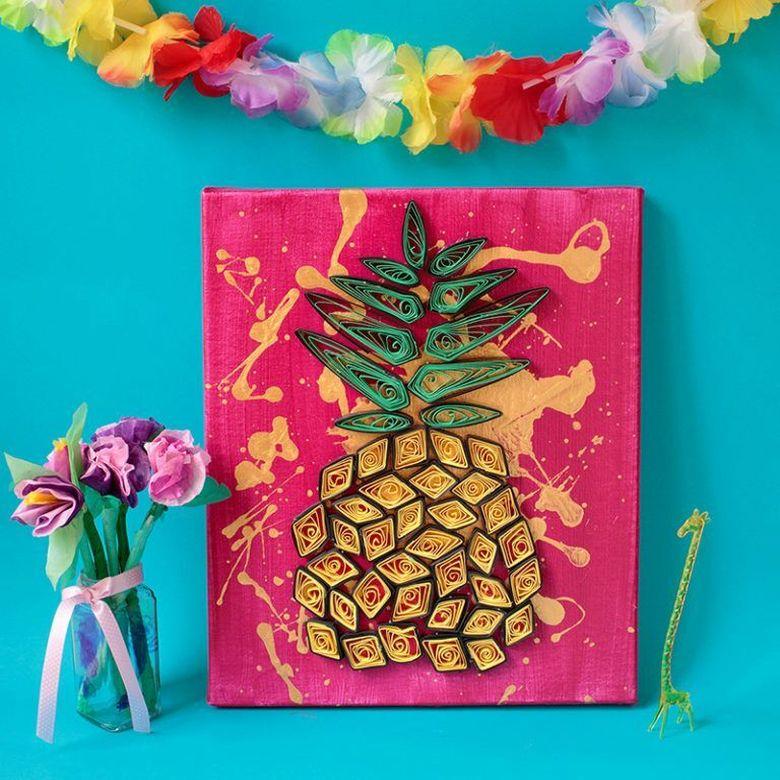 самодельный ананас