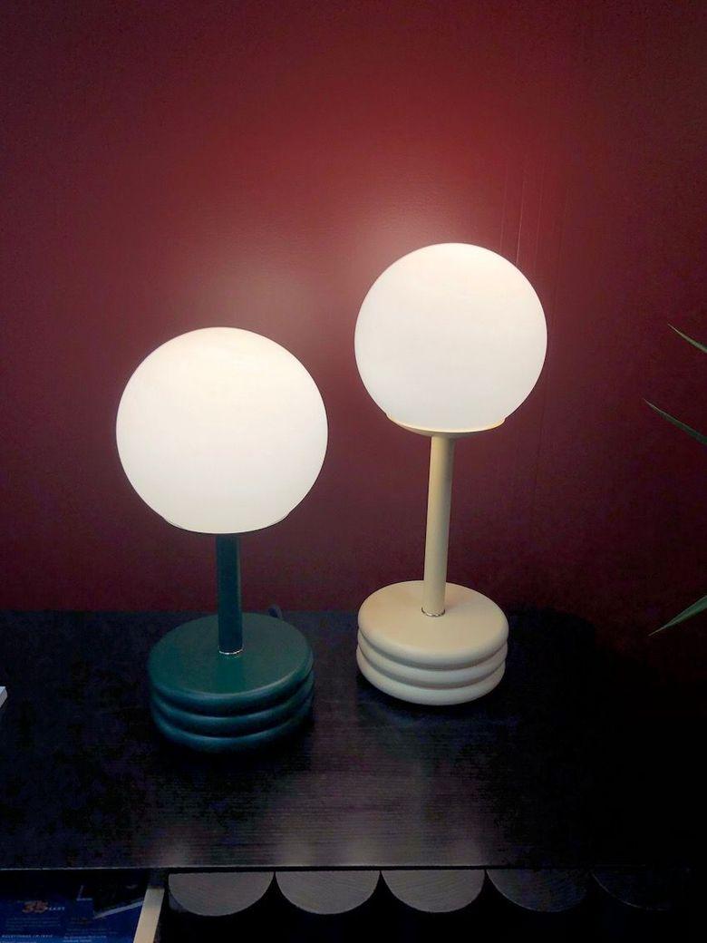 Светильники шары более высокий вариант