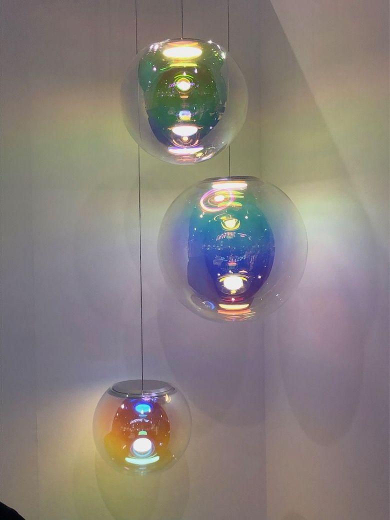Светильники шары два в одном