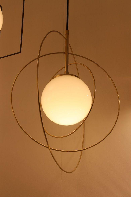 Светильники шары орбитальный стиль
