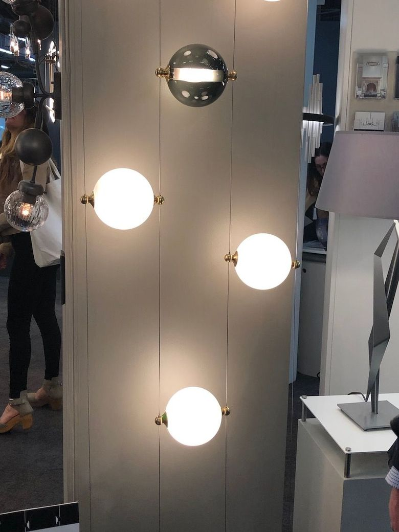 Светильники шары регулируемый стиль