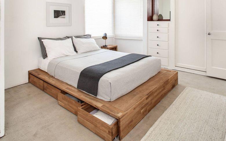 каркас кровати с возможностью хранения
