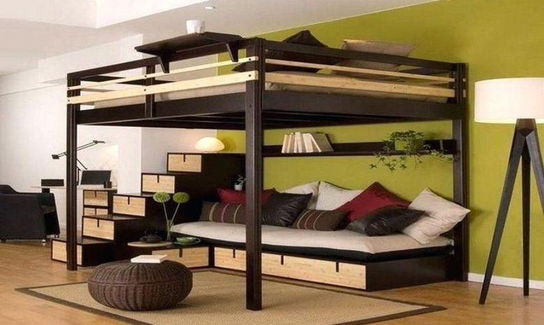 Кровать-лофт