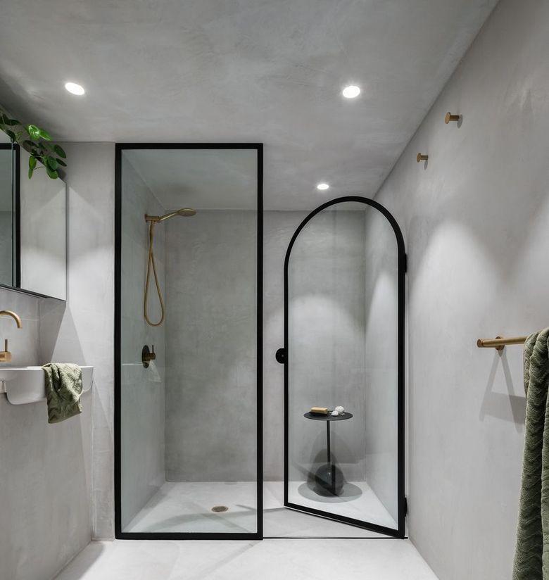 Арочный дизайн в ванной комнате