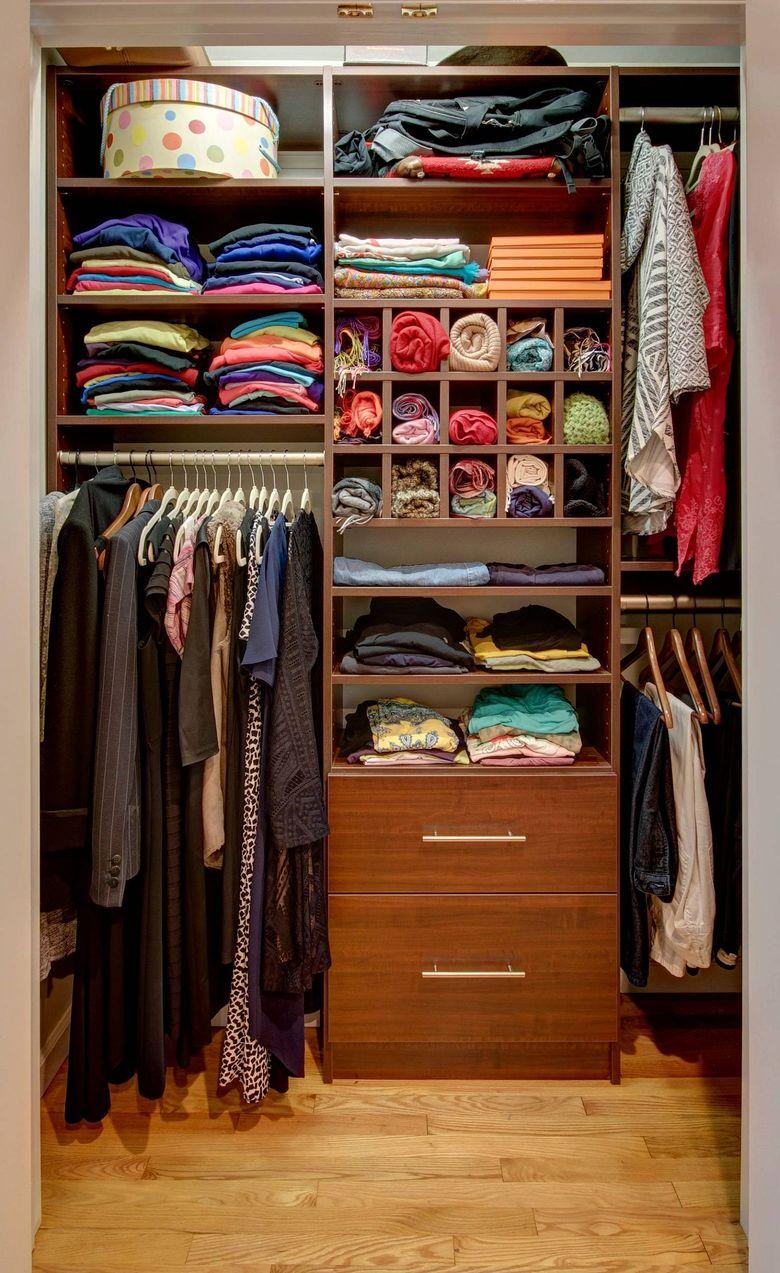 гардероб в современном стиле