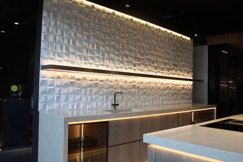 скульптурная плитка с текстурой