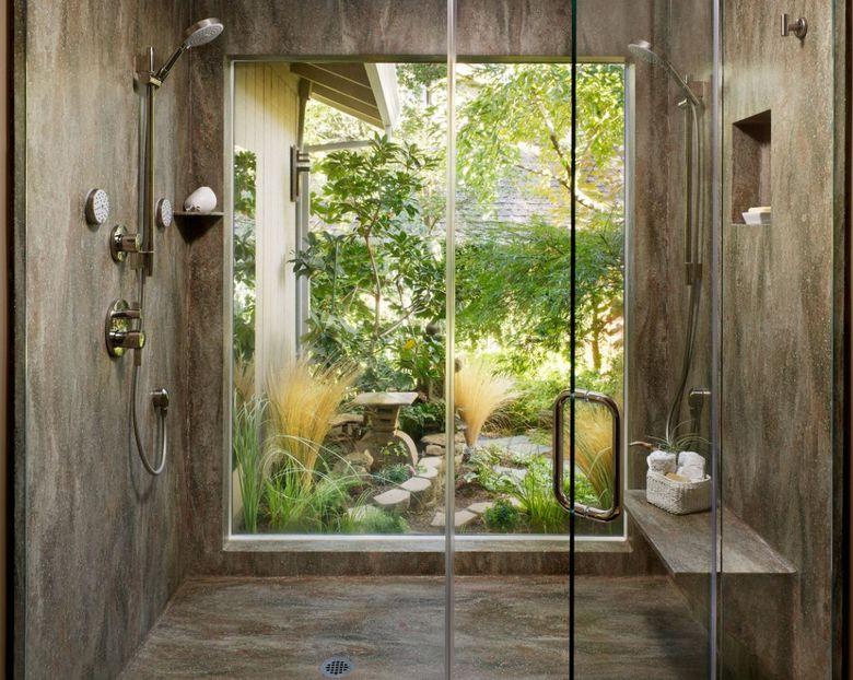 душ из корианового дерева