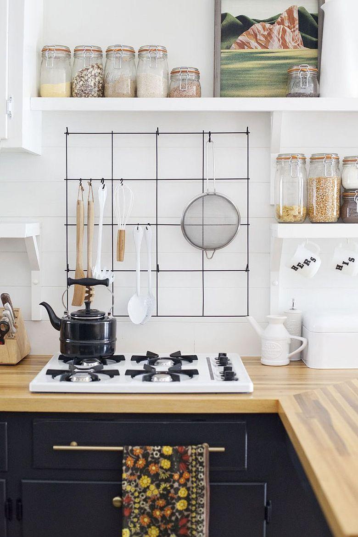 Тренды кухни 2020 простой проволочный каркас