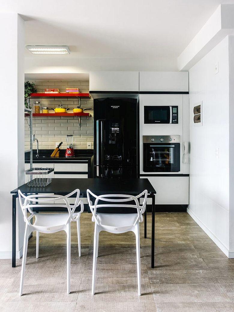 Кухня и обеденная зона
