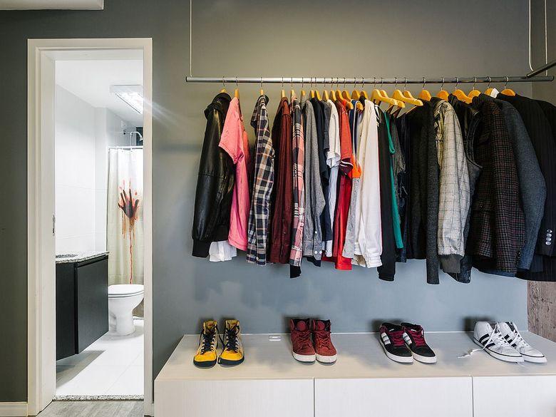 Дизайн открытого шкафа