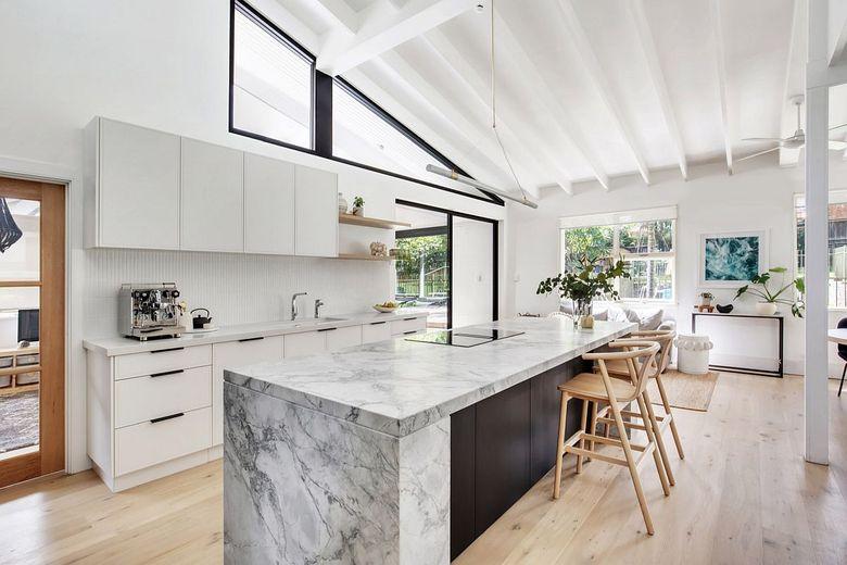 Тренды кухни 2020 кухня в белом цвете