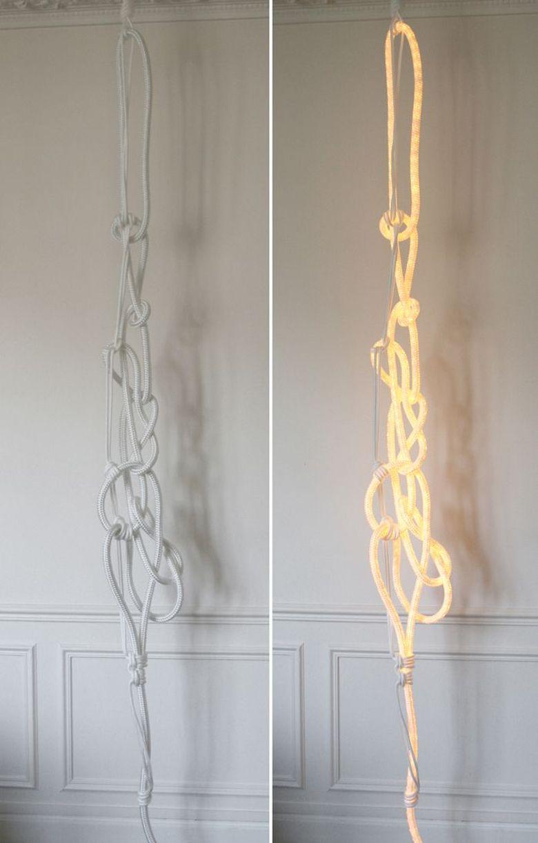 веревка - лампа