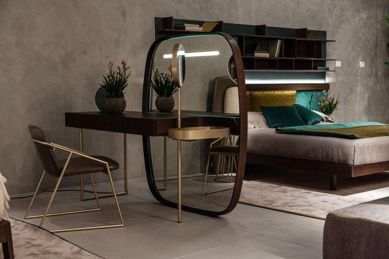 Современный дизайн мебели и растения