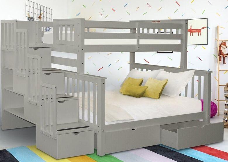 Двухъярусная кровать фото и 6 ящиков