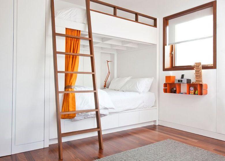 Двухъярусная кровать фото для современных и минималистских интерьеров