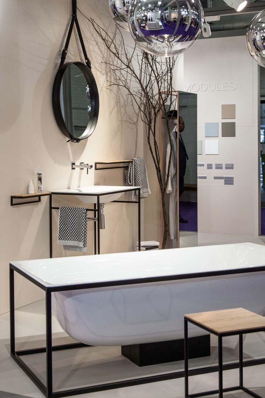 Современный дизайн плавающие ванные комнаты