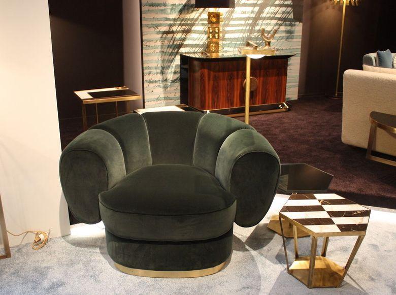 Мебель в стиле гламура