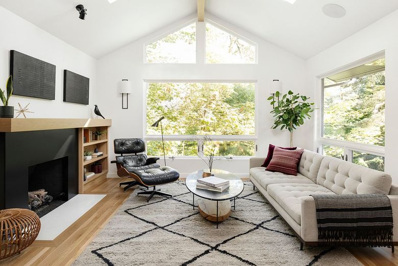 Релакс мебель шезлонг Eames