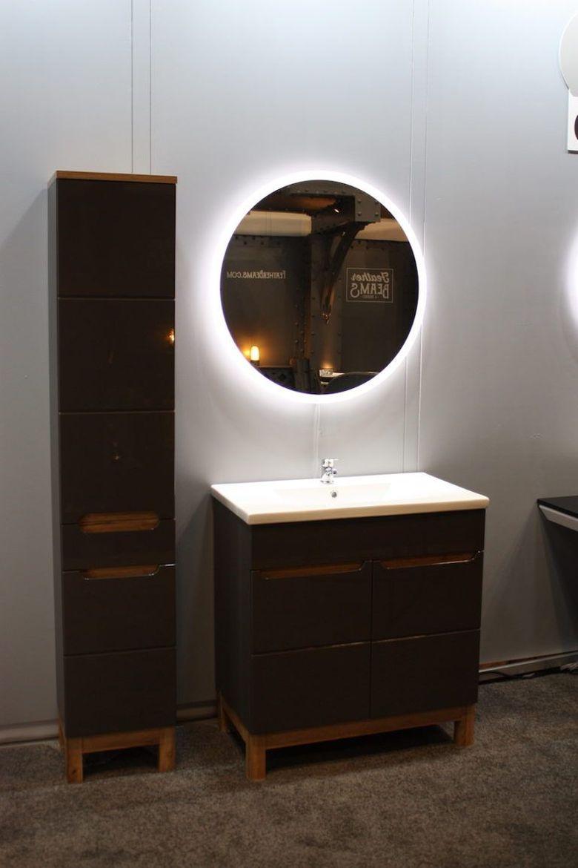 Современные ванные комнаты тонкие линии и стиль мебели