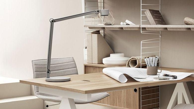 Рабочее место дома дубовый стол и отделка