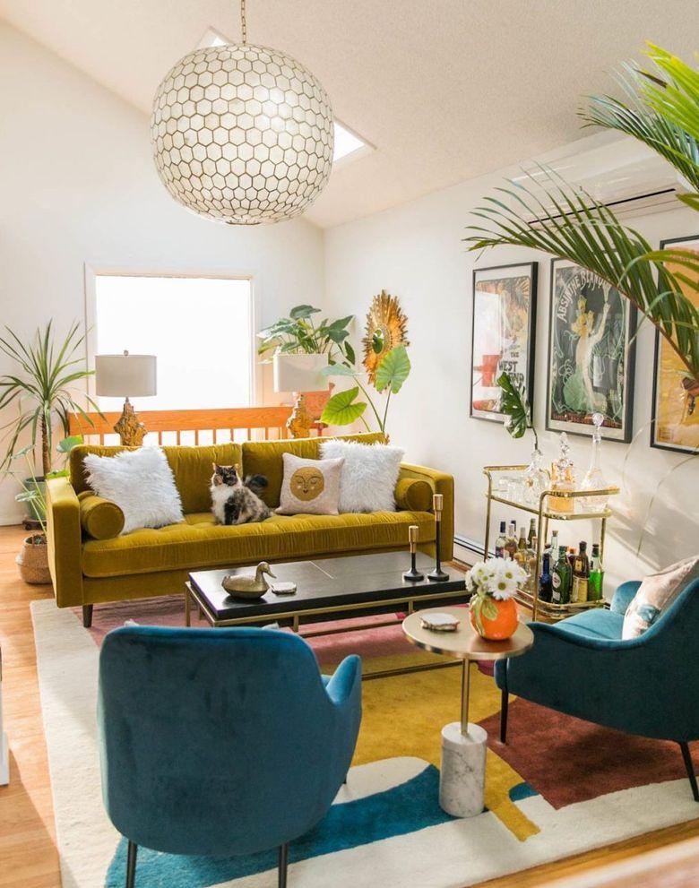 Cовременные гостиные фото классическая цветовая палитра
