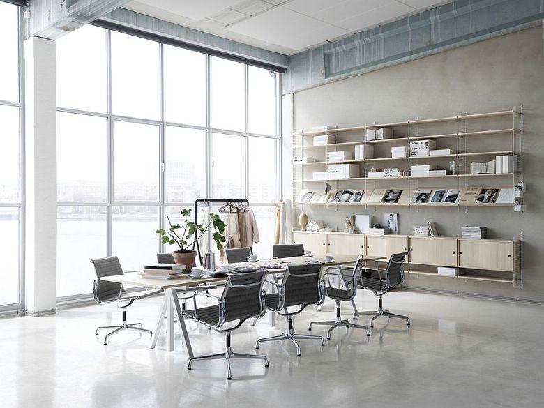 Рабочее место дома рабочий стол String