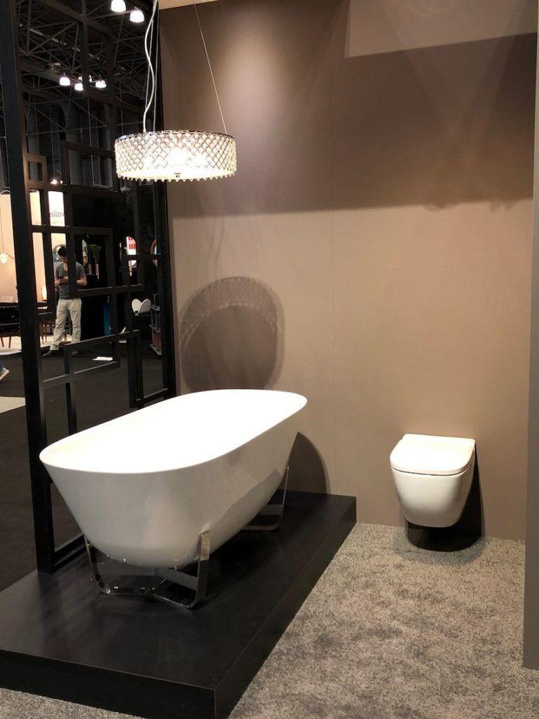 Современные ванные комнаты отдельно стоящая ванна