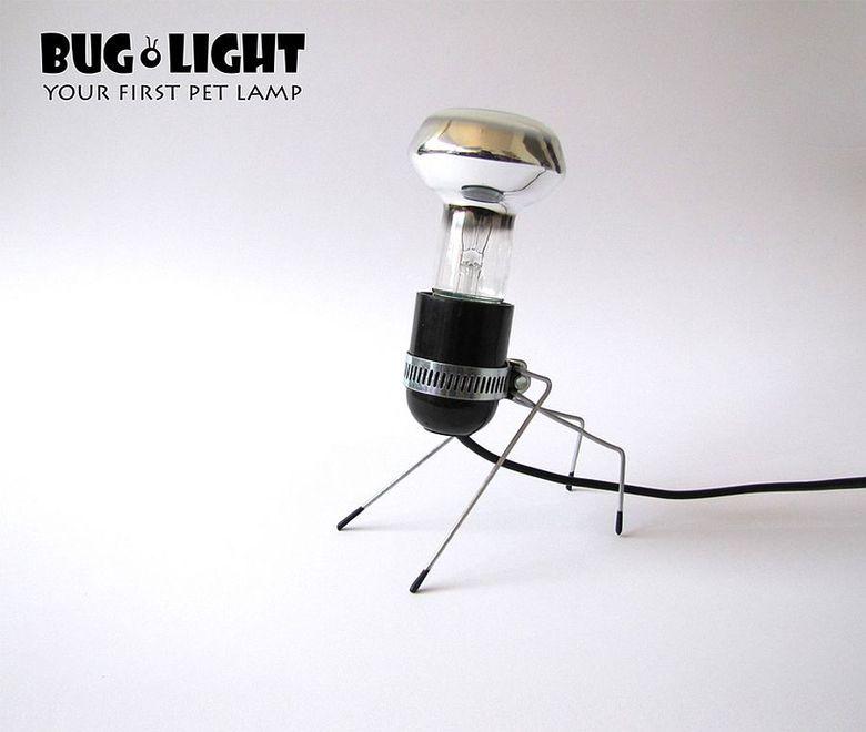 Красивые настольные лампы в форму жуков