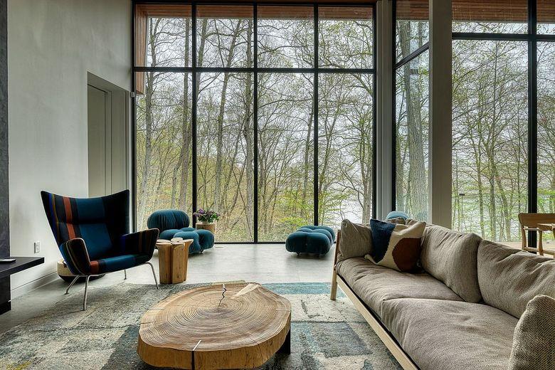 Релакс мебель кресло с высокой спинкой