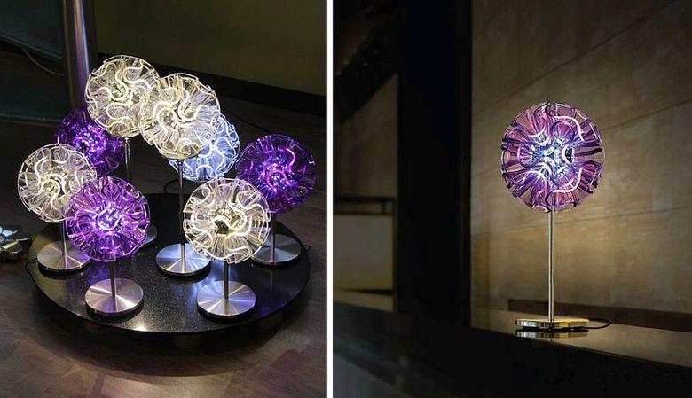 Красивые настольные лампы Electric Coral