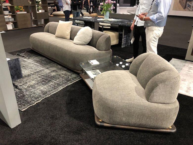 Интересная мебель секционный диван