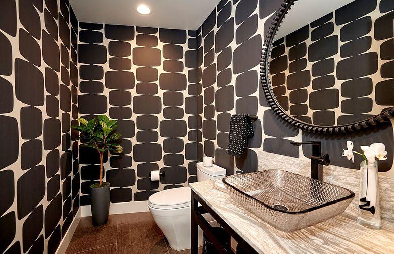 Туалетная комната стильная и современная