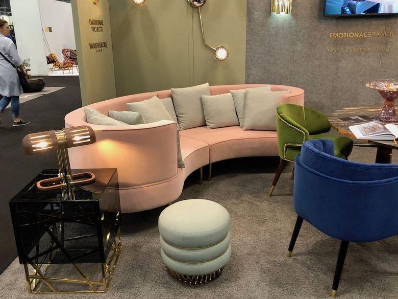 Интересная мебель гламурный диван