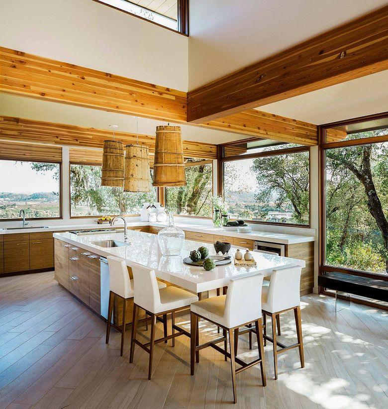 Стили кухни современный органический