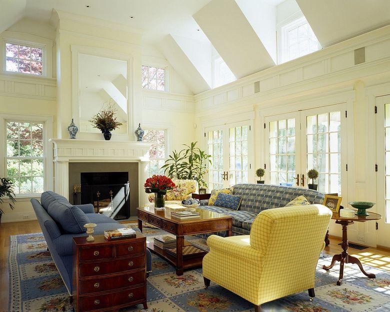 Идеи для гостиной окна фонарей и большие окна
