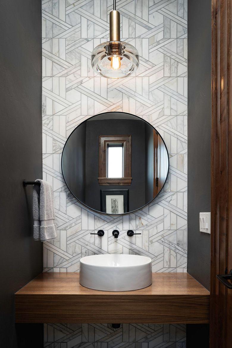 Туалетная комната фон с небольшим количеством узора